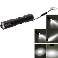 3W 40-60 Lumens Police Aluminium Alloy Handheld LED Flashlight Torch