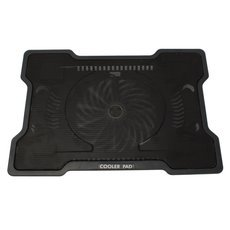 "New 17"" One Fan USB Notebook Laptop Cooling Cooler Pad Black"