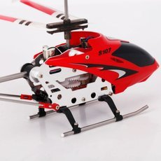 Genuine Syma S107G 3CH Infrared Mini Metal RC Helicopter with Gyro RTF (New Package) Red
