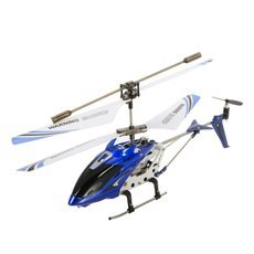 Genuine Syma S107G 3CH Infrared Mini Metal RC Helicopter with Gyro RTF (New Package) Blue