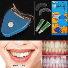 Home Use Teeth Whitening System Teeth Bleaching Gel Kit Blue