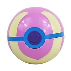 7cm Pokemon Ball Anime Action Figure Collection Toy Cosplay Prop Healing Ball Style Pink & Light Yellow