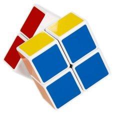 SHS 2x2x2 Mini Cube Rubik′s Magic Cube Puzzle Toy White