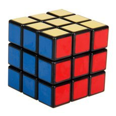 SHS 235 Smooth 3x3x3 Fancy Rubik′s Cube Puzzle Toy Black