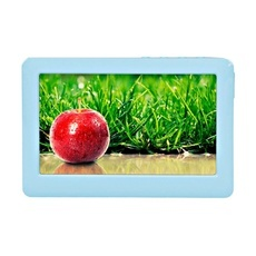 """16GB 4.3"""" Touch Screen MP3 MP4 MP5 Player E-book/FM/TV-out/Rec Blue K113"""