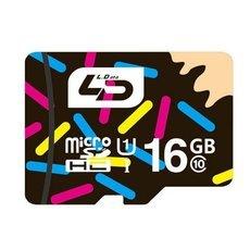 LD 16GB Micro SD TF Memory Card Class 10 for Smartphone Multi-color
