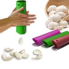 Magic Silicone Garlic Peeler Peel Easy Useful Kitchen Tools Color Random