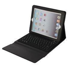 PU Leather Case with Bluetooth Keyboard for iPad 2/ The New iPad 3/ iPad 4 Black