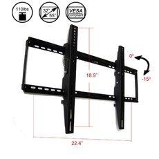 "Cantilever 32-55"" 110LB Flat Panel LCD LED Plasma TV Wall Mount Bracket Black"