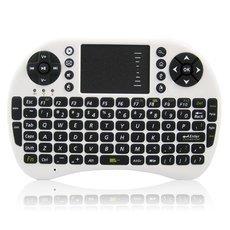 UKB-500-RF Multi-functional 2.4G Wireless Mini Air Mouse Keyboard White + Black