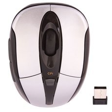 6200 2.4G Wireless Optical Mouse Grey