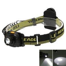 Portable 3W 1200 Lumens Fishing Light Induction LED Headlight