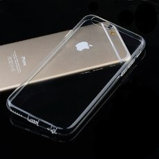 Ultra-thin Glossy TPU Protective Case for iPhone 6/6S Transparent