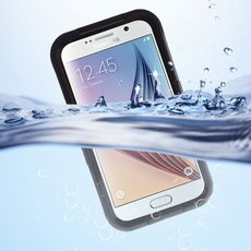 Waterproof Protective Phone Case for Samsung Galaxy S6 / S6 Edge Black