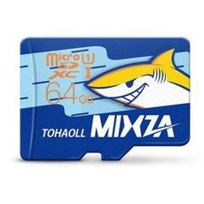 MIXZA TOHAOLL Ocean Series Class 10 64GB Micro SD/TF Memory Card