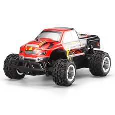Wltoys L343 1/24 2.4G F1 High Speed 25km/h 2WD Radio Remote Control Monster Truck Red & Black