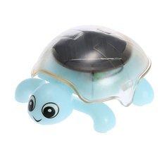 Cute Tortoise Magic Solar Powered Solar Toy for Kids Light Blue
