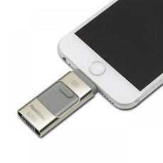 3-in-1 Micro USB Interface i-Flash Drive HD U-Disk 8GB for IOS Android PC Random Color