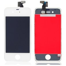 LCD Touch Screen Replacement Assembly for iPhone 4 CDMA Version White