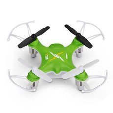 Syma X12 2.4G 4CH 6-Axis Gyro 3D Rolling Throw to Fly Mini RC Quadcopter Light Green