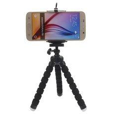 Universal Mini Cellphone Tripod Stand Black