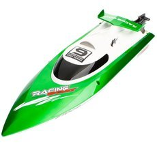 Feilun FT009 4 Channel 2.4GHz Water Cooling High Speed Racing RC Boat Green