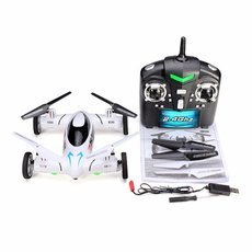 X25 2.4G 8CH 6-Axis with 2.0MP Camera Speed Switch Land and Sky 2 in 1 3D Eversion RC Quadcopter Flying Car RTF