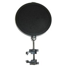 Small Size Microphone Pop Filter Black