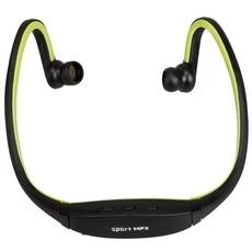 Sport TF Card Reader Media Headset MP3 Player Green
