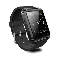 U8 U Watch Bluetooth Smart Watch with Altitude Meter for iPhone/Samsung/ HTC Android Smartphones Black