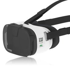 New VR Virtual Reality 3D Glasses for 4.0-6.5 Smartphone Black & White