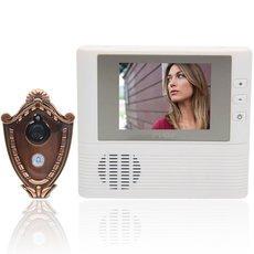 "HQS-807 2.8"" TFT 3X Digital Lens Zoom Electronic Peephole Viewer Cat Eye Doorbell"