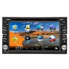 "New 6.2"" Double 2 Din Car Stereo Radio Video DVD CD Player Bluetooth iPod +Australia Map"