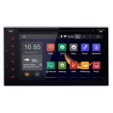"Android 4.4 6.2"" Double 2 Din 3G-Wifi GPS Nav Indash Car DVD Player BT +Free US Map"