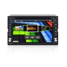 "6.2"" Universal 2 Din Car DVD Player with GPS/Bluetooth/Analog TV/DVD/FM/RDS/Remote Control/IPOD/Europe Map"