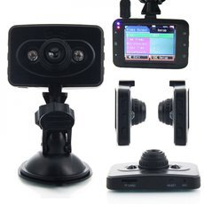 "2.4"" Full HD 1080P 100° A+ Ultra Wide Angle Lens Vehicle Car DVR Recorder (Ingenco) Black"