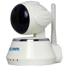 ESCAM QF510 Secure Dog Alarm Wireless WiFi 720P Defense IP Camera (UK Plug)