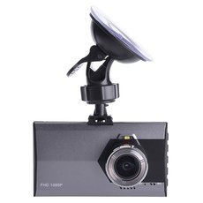 A8 Newfashioned 170-Degree Ultra Wide Angle Lens 5.0MP 1080P HD Car DVR Recorder Silver Black
