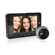 "DANMINI 4.3"" TFT Digital Door Viewer Peephole Doorbell Night Vision Camera with Motion Detection"