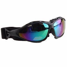 Gafas Moto Matte-black Frame Colorful Lens Outdoor Sports Goggles Glasses