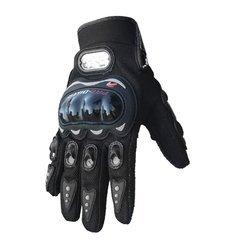 1 Pair Carbon Fiber Pro-Biker Bike Motorcycle Motorbike Racing Gloves