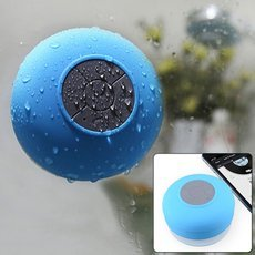 UHAPPY UT-15 Waterproof Bluetooth 3.0 Speaker with Suction Cup Blue