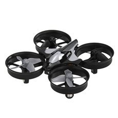 JJRC H36 Headless Mode 360° Flips One Key Return Mini Nano RC Quadcopter RTF Mode 2 Gray