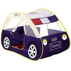Kids Cartoon Car Play Tent Toy Indoor & Outdoor Garden Playhouse Blue