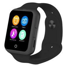 NO.1 D3 1.22-inch MTK6261 GSM SIM Card Bluetooth Smart Watch Black