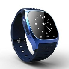 M26 Stylish Touch Screen Smart Bluetooth Bracelet Watch Blue