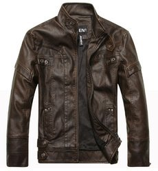Motorcycle leather jackets men's leather jacket & coat