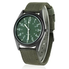ORKINA P104 Men′s Military Style Fashionable Watch with Luminous Pointer Army Green